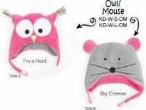 I'm a Hoot and Big Cheese Reversible Hat