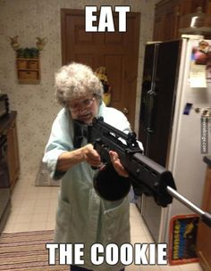 This grandma takes dessert seriously