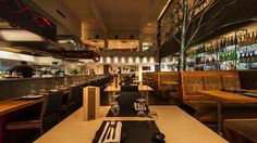 Sakana - Dishes are prepared in front of diners eyes by the specialist chefs in the open kitchen using traditional Sushi, Robata, Tempura and Teppanyaki skills. All food is served tapas style and made to order from the extensive and exciting menu. Visit Manchester, Teppanyaki, Tempura, Diners, Open Kitchen, Chefs, Night Life, Tapas, Sushi