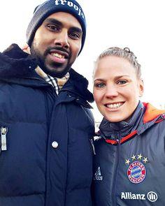An impressive 8-0 win for @dfb_frauenteam international @leonie_maier4 and her @fcbfrauen team against DJK Arminia Ibbenbüren in the Women's @dfb_pokal Round of 16. |  Sportzentrum Schierloh, Ibbenbüren |  #football #FCBayern #DieBayern #DFBPokal #DJKFCB #Germany #DFB #potd #chrisontour #CPDFootball #instadaily #womensfootball #instalike #photooftheday #fcbfrauen #leoniemaier #footballer #miasanmia #dfbfrauen #fussball #fuppes #smile