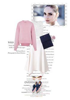 """Oversized Sweater Style..."" by unamiradaatuarmario ❤ liked on Polyvore featuring STELLA McCARTNEY, Ally Fashion, VIVETTA, Gucci, Delfina Delettrez and sweaterweather"