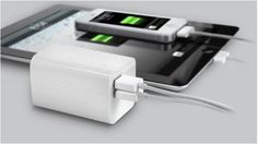 BoostBlock Backup battery from Eton -- keep it in your bag so you never lose power. (And wow, so small! Geek Gadgets, Cool Gadgets, Cool Mom Picks, Portable Battery, Cool Tech, Tech Gifts, Iphone Accessories, New Phones, Cool Gifts
