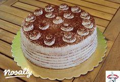 Tiramisu torta | Nosalty Fall Crafts, Vanilla Cake, Dessert Recipes, Christmas, Food, Cakes, Tiramisu Cake, Decorating Cakes, Autumn Crafts