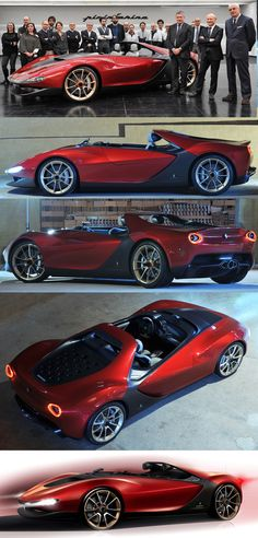 Ferrari Sergio Concept nice picture ,wish i as in that show room,that utter elegance.