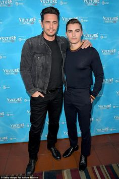 Brothers! James and Dave Franco showed off their good looks at the star-studded festival