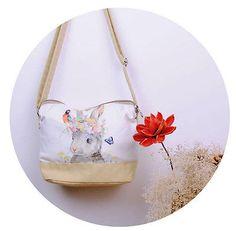 Women Girl Cute Lovely Messenger Canvas Shoulder Bag Cross Body Light Satchel