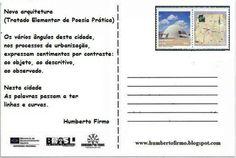 Nova arquitetura - poema postal