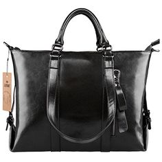 SZONE 3Way Womens Genuine Leather Shoulder Tote Bag Handbag * Check out the image by visiting the link.