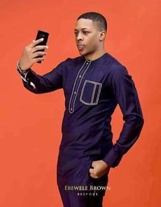 Dieko African Wear Styles For Men, African Dresses Men, African Attire For Men, African Clothing For Men, African Shirts, Nigerian Men Fashion, African Men Fashion, African Women, Costume Africain
