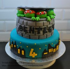 Ninja Turtles Taart Cake Oosterhout