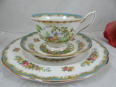 Vintage Royal Albert English Bone China Tea Trio