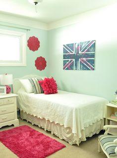 Tween room bedroom makeover