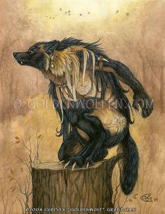 untitled_wolf by moldyb fire wolf demon spirit elemental ...