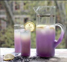 Lavendel/citroen limonade