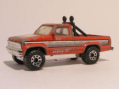 For sale 3.50 Euro >>Dodge Dakota ST Pickup 1:64 Matchbox - Speelgoedenverzamelshop