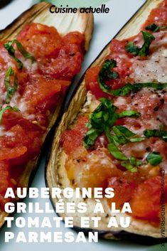 Recette aubergine, recette été, recette tomate, recette diner rapide