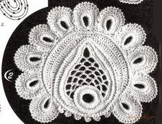 TRICO y CROCHET-madona-mía: Aplicaciones para crochet Ruso o Irlandés con patrones-A-