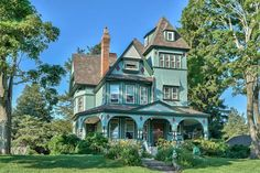 1892 Victorian: Queen Anne - Mary Canis House - As Featured in the NY Times in Forked River, New Jersey - OldHouses.com