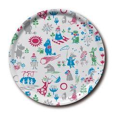 Moomin pattern tray 31 cm