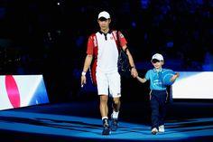 Kei Nishikori Photos: Barclays ATP World Tour Finals - Day One