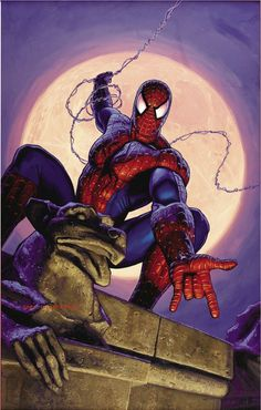 "#Spiderman #Fan #Art. (Spiderman Marvel Comics) By: Greg Hildebrandt. (To watch ""Spiderman take care of a car thief"", Simply tap on the URL below while in your browser: http://m.youtube.com/watch?v=wtClC8fslWI  P.S. And Enjoy!. (THE * 5 * STÅR * ÅWARD * OF: * AW YEAH, IT'S MAJOR ÅWESOMENESS!!!™)[THANK Ü 4 PINNING!!!<·><]<©>ÅÅÅ+(OB4E)   https://s-media-cache-ak0.pinimg.com/474x/40/37/e1/4037e19b99074bd9ed72f82aab13105c.jpg"