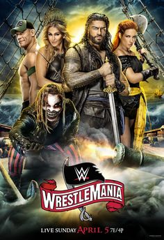 Watch WWE Wrestlemania 36 2020 – April 2020 Online Full Show Dailymotion The first night of The Only WrestleMania Too Big for Just One Night Charlotte Flair, Byron Saxton, Wwe Ppv, Wwe Raw And Smackdown, Shayna Baszler, Wwe Wallpapers, Wrestling Wwe, Wwe News, John Cena
