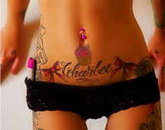 sooo tempted to get a tattoo on my lower stomach.