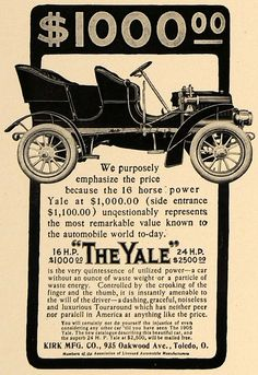 1905 The Yale Automobile
