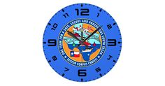 Featured in two sizes, this USCG Station Corpus Christi Texas wall clock is vibrantly printed with AcryliPrint®HD process to ensure the highest quality display and is a good way to show your love and pride for your station.