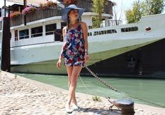 Summer woman outfit Marie and Mood Blog  #sun #hat #fashion