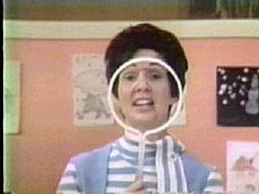 Romper Room's Miss Sally in the '60's.  She never did say my name :-(