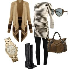 """Weekend iV"" by pregnantchicken on Polyvore..great winter maternity outfit"