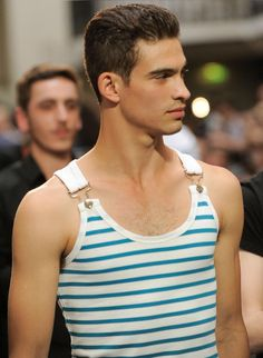 Interesting. Jean Paul Gaultier Spring 2012.. would be adorable on a ladies tank