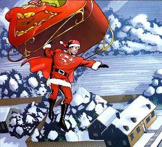 Comic Book Characters, Comic Books, Fictional Characters, Clark Superman, Losing A Child, Clark Kent, Comic Art, Batman, Santa
