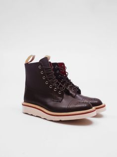 Trickers for Present - Two Tone Superboot Brown