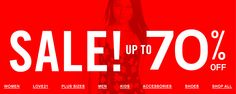 #iShopinternational.com Shop International! Shop from the USA #Sale ! Upto 70% OFF >>http://bit.ly/1AFxdjL