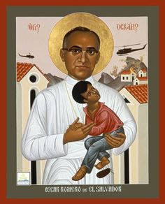 Someone else who saw the marginalized and the oppressed and sought their liberation was Oscar Romero, Archbishop of San Salvador, whose martyrdom thirty-five years ago today the church commemorates. Description from ecclesialtheology.blogspot.it. I searched for this on bing.com/images