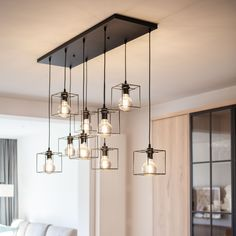 The Noury pendant lamp is the focal point of your interior. Big on design, big in size. Dining Table Lighting, Rustic Lighting, Light Table, Front Door Design Wood, Kitchen Lamps, Wooden Lamp, Apartment Interior Design, Dining Room Design, Ceiling Lamp