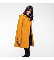 lainage reliefé LE and jaune Duffle Trench coat Coat en sQhdrt