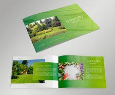 garden logo and corporate identity