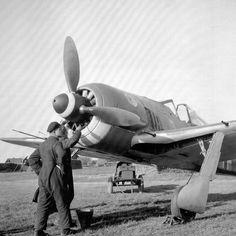 Service of the German fighter FW.190 JG51 airfield Ezau