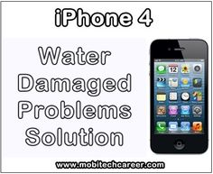 How to Fix Water Damaged Apple iPhone 4 Problems & Faults http://ift.tt/2f9dR53