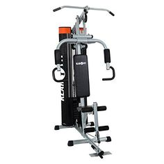 nice Klarfit The Mountain Máquina de fitness músculos dorsales gris