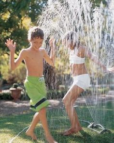 Sprinkler Party Ideas