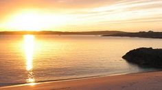 Clifden ecoBeach Camping & Caravanning Park - Google+ Connemara, Beach Camping, Atlantic Ocean, Mountain Range, Ecology, National Parks, Sign, Sunset, Water