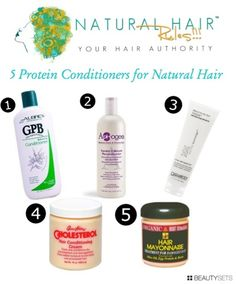 Beautysets - 5 Protein Conditioners for Natural Hair