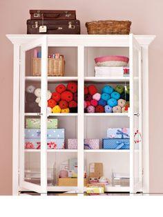 cool wool locker | lockers, repurposed lockers and yarn stash