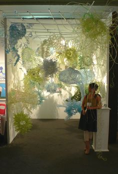 Aurora Robson. 'The Jungle'. Made of plastic bottles... WOW!