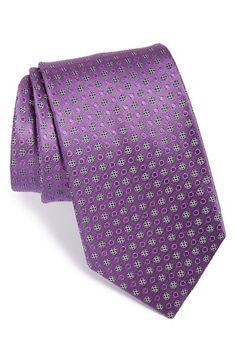 Men's Ermenegildo Zegna Dot Silk Tie