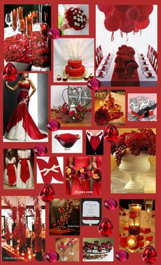 wedding colors - Red